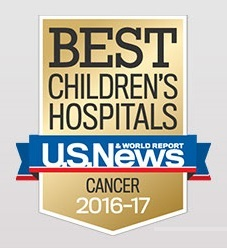 Topped Ranked Pediatric Cancer Program in Florida